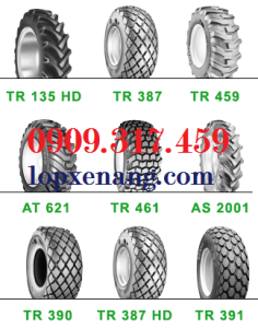 vo-xe-xuc.Industrial Tractor Rear Tyres - R1 R3 R4